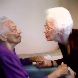 Naomi Fiel with Gladys