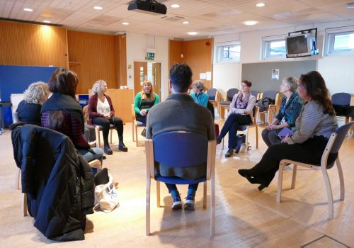 Memory Bridge Session at St. Christopher's Hospice