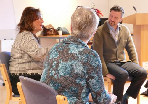 Memory Bridge Discussion at St. Christopher's Hospice